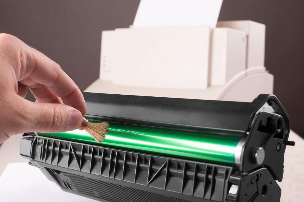 Limpieza de cabezales de la impresora