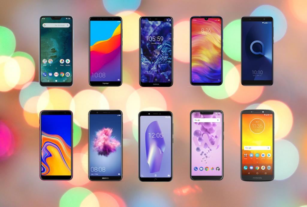 Top 10 de móviles 2019