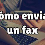 como enviar un fax
