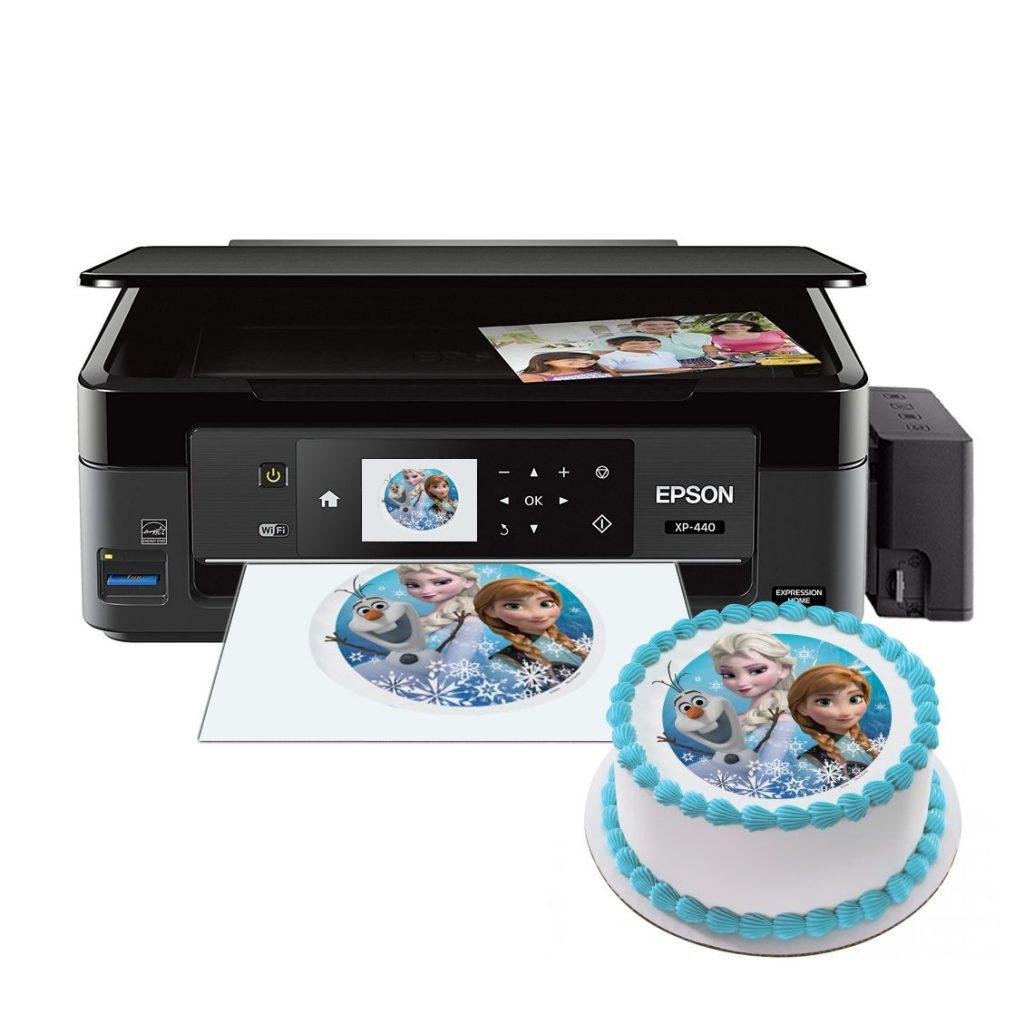 Impresora de tinta comestible para tartas